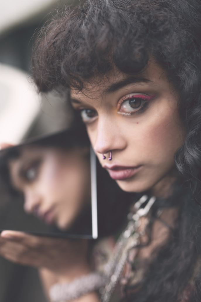 Artistic portraits for Maidiallo by Lucilla Bellini Photographer in Canary Islands