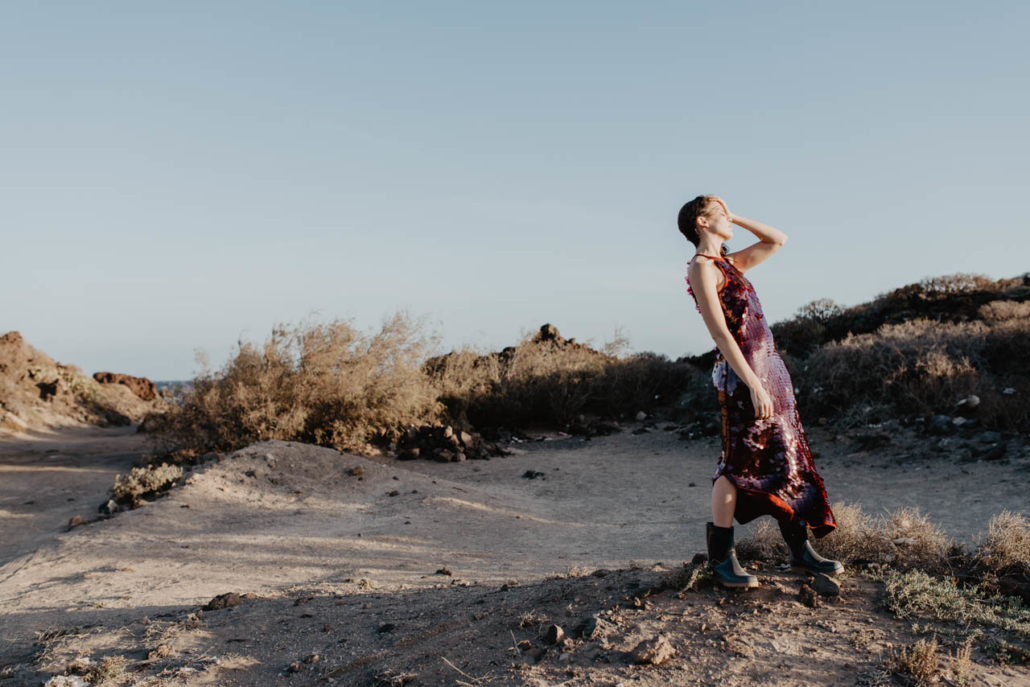 Artistic portraits for @Yexmikumi by Lucilla Bellini Photographer in Canary Islands